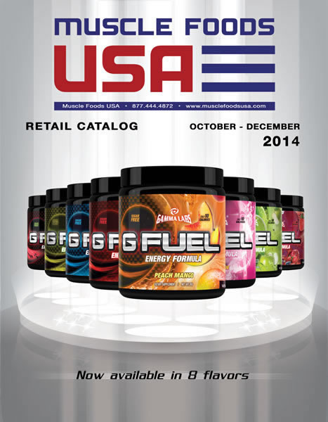 GFUEL-MUSCLE FOODS USA CATALOG COVER