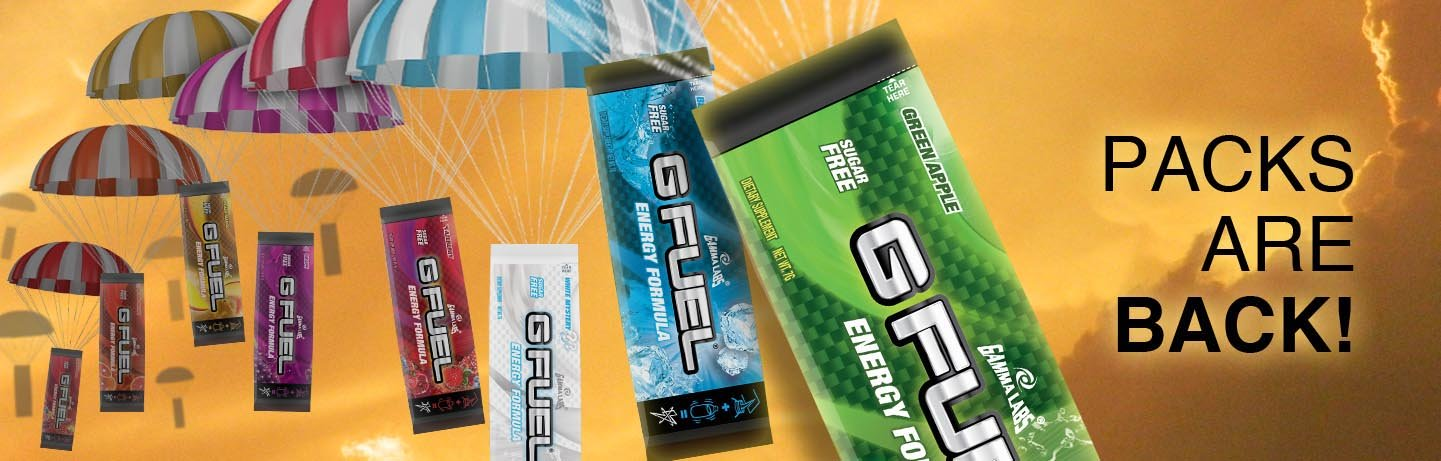 GFuel, Packs are back! (Poster)