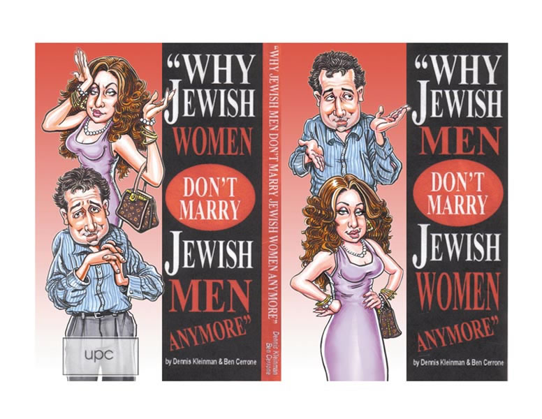 WHY JEWISH WOMEN DON'T MARRY JEWISH MEN (+ flipside)