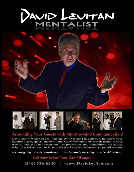 DAVID LEVITAN MENTALIST
