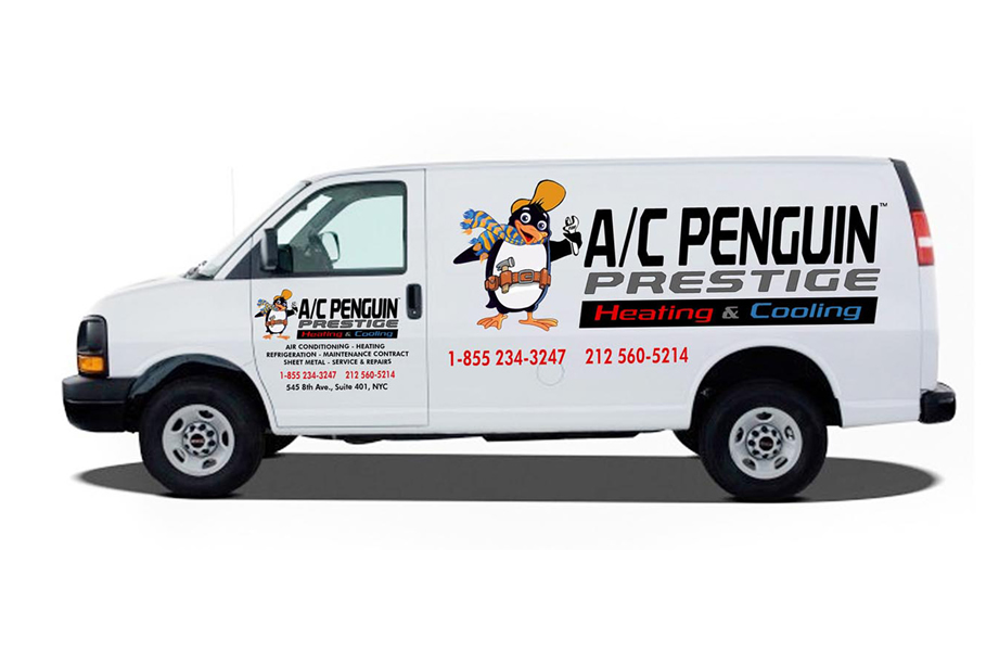 AC PENGUIN VEHICLE WRAPS