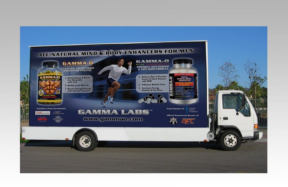 GAMMA LABS MOBILE BILLBOARDS
