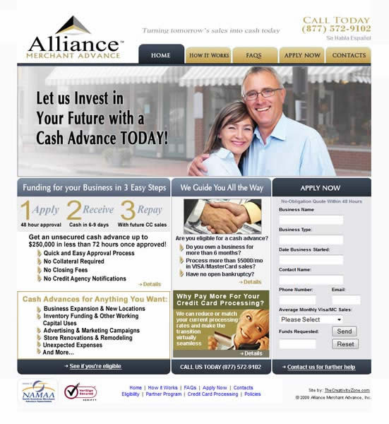 ALLIANCE MERCHANT ADVANCE