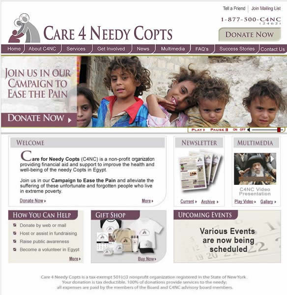 CARE 4 NEEDY COPTS