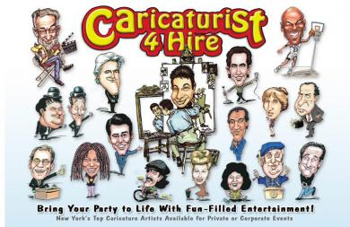 CARICATURIST 4 HIRE