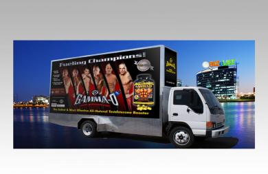 GAMMA-O MOBILE BILLBOARD