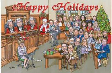 LEGAL FIRM'S HOLIDAY CARD
