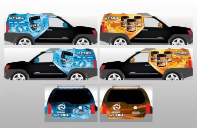 GFUEL VEHICLE WRAPS