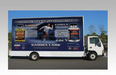 GAMMA LABS MOBILE BILLBOARD