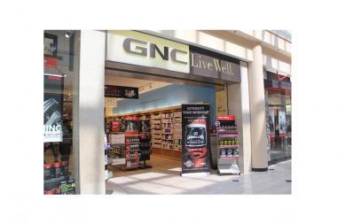 GNC INSTORE DISPLAYS