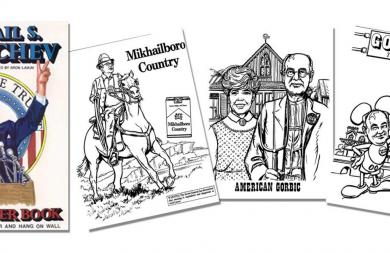 THE MIKHAIL S. GORBACHEV COMIC POSTER BOOK