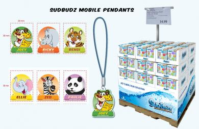 SUDPRIZE MOBILE PENDANTS