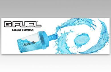 G Fuel 20 ' x 8' banner