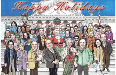 LAW FIRM'S HOLIDAY CARD
