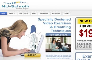 NU-SCHROTH SCOLIOSIS VIDEOS